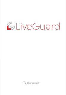 Accueil application Liveguard